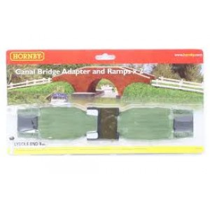 HORNBY N8574 CANALBRIDGE+RAMPS BASE