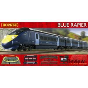 HORNBY R1139 BLUE RAPIER TRAIN SET