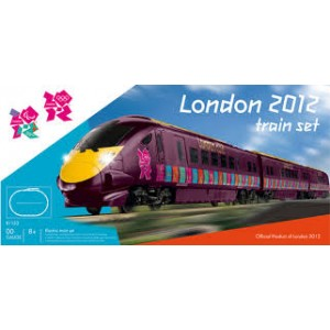 HORNBY R1153 LONDON 2012 JAVALIN TRAIN SET