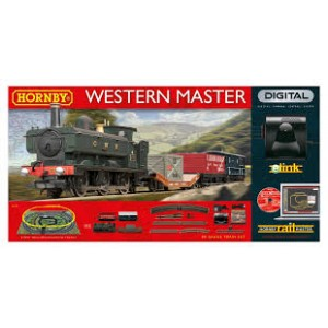 HORNBY R1173 WESTERN MASTER W/E-LINK TRAIN SET