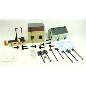 HORNBY R8228 BUILDING EXTENSION PACK B