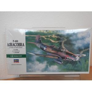 HASEGAWA 09092 P-400 AIRCOBRA VLIEGTUIG