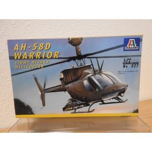 ITALERI 027 AH-58D WARRIOR HELICOPTER