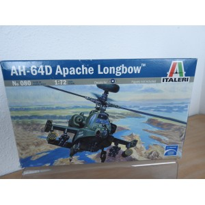 ITALERI 080 AH-64D APACHE HELICOPTER