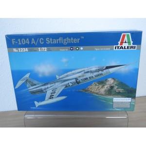 ITALERI 1234 F-104A/C STARFIGHTER VLIEGTUIG