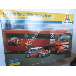 ITALERI 3830 WRC RACING TEAM TRUCK EN TRAILER