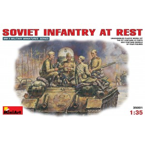 MINIART 35001 SOVIET INFANTERY