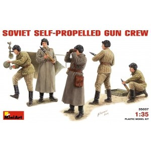 MINIART 35037 SOVIET SELF-PROPELLED GUN CREW