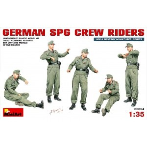 MINIART 35054 GERMAN SPG CREW RIDERS