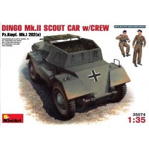 MINIART 35074 DINGO Mk II W/CREW