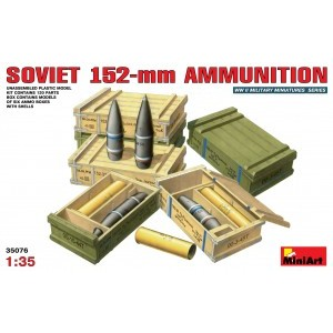 MINIART 35076 SOVIET 152-mm AMMUNITION
