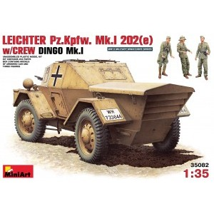 MINIART 35082 LEICHTER Pz Kpfw Mk1 W/CREW