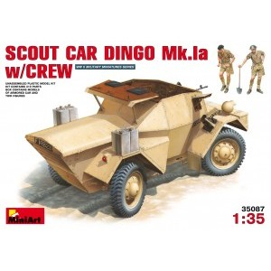 MINIART 35087 SCOUT CAR DINGO W/CREW