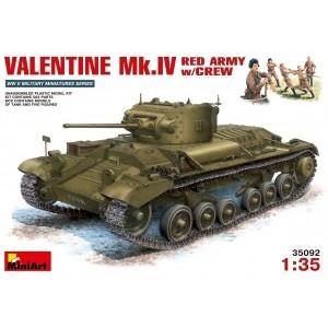 MINIART 35092 VALENTINE MK 4 W/CREW