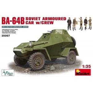 MINIART 35097 BA-64B PANTSERWAGEN W/CREW