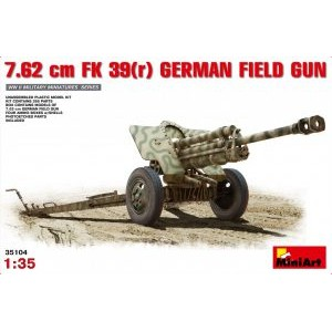MINIART 35104 GERMAN 7,62 cm PAK 39
