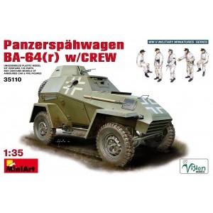 MINIART 35110 PANZERSPAHWAGEN BA-64 W/CREW