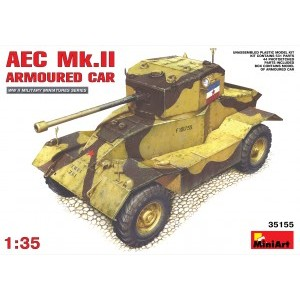 MINIART 35155 AEC MK ARMOURED-CAR