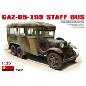 MINIART 35156 GAZ-05-193 STAFF BUS