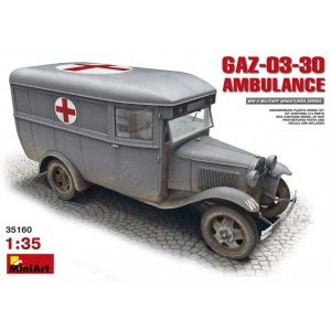 MINIART 35160 GAZ-03-30 AMBULANCE