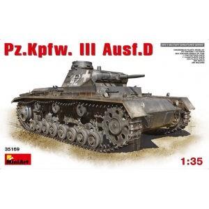 MINIART 35169 PZ.KPFW. 3 AUSF.D