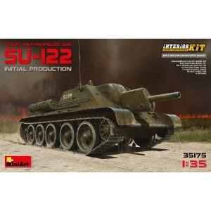 MINIART 35175 SU-122 INITIAL PROD TANK
