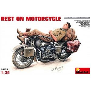 MINIART 35176 REST ON US MOTORCYCLE