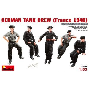 MINIART 35191 GERMAN TANK CREW 1940