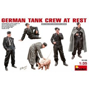 MINIART 35198 GERMAN TANK CREW AT REST