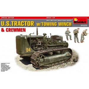 MINIART 35225 US TRACTOR W/TOWING WINCH&CREWMAN
