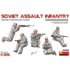 MINIART 35226 SOVIET ASSAULT INFANTRY
