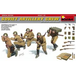 MINIART 35231 SOVIET ARTILLERY CREW SPECIAL EDITION