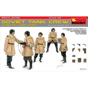 MINIART 35244 SOVIET TANK CREW WINTER UNIFORMS