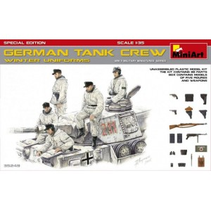 MINIART 35249 GERMAN TANK CREW WINTER UNIFORMS