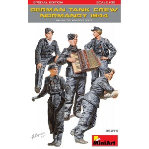 MINIART 35275 GERMAN TANK CREW NORMANDY 1944