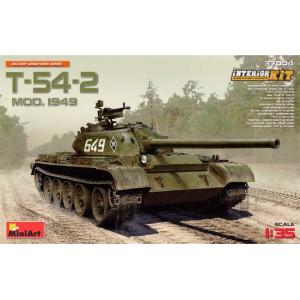 MINIART 37004 T-54-2 MODEL 1942 W/INTERIOR KIT