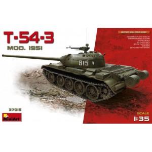 MINIART 37015 T-54-3 MODEL 1951 TANK