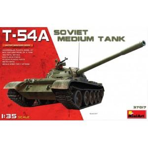 MINIART 37017 T-54A SOVIET MEDIUM TANK