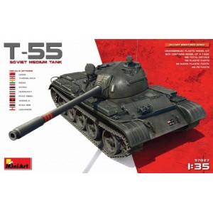 MINIART 37027 T-55 SOVIET MEDIUM TANK