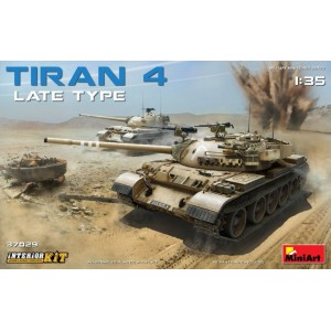 MINIART 37029 TIRAN 4 LATE TYPE W/INTERIOR KIT
