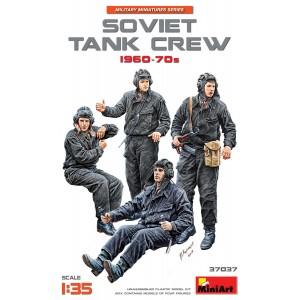 MINIART 37037 SOVIET TANK CREW 1960-70S