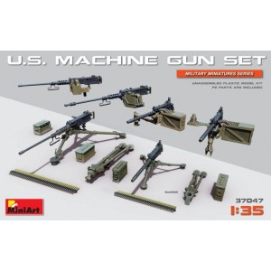 MINIART 37047 US MACHINE GUN SET
