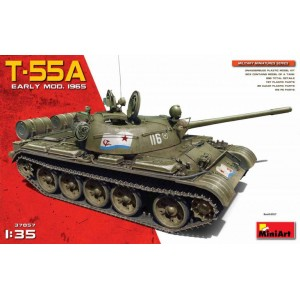 MINIART 37057 T-55A EARLY MODEL 1956 TANK