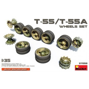 MINIART 37058 T-55/T-55A WHEEL SET