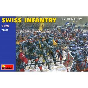 MINIART 72009 SWISS INFANTERY XV CENTURY