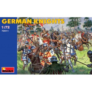 MINIART 72011 GERMAN KNIGHTS XV CENTURY