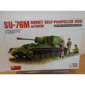 MINIART 35036 SU-76M TANK