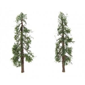 "HORNBY R8917 REDWOOD TREES 4"" (2) 100MM"
