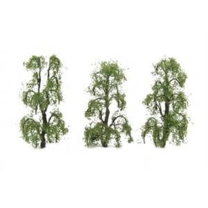"""HORNBY R8918 BIRCH TREES 3"""" (3) 75MM"""