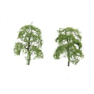"HORNBY R8921 ASH TREES 3"" (2)  75MM"